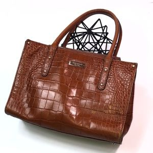 Vintage Kate Spade Alligator Handbag Puse